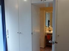 Integrierter Zugang zum Gäste-WC